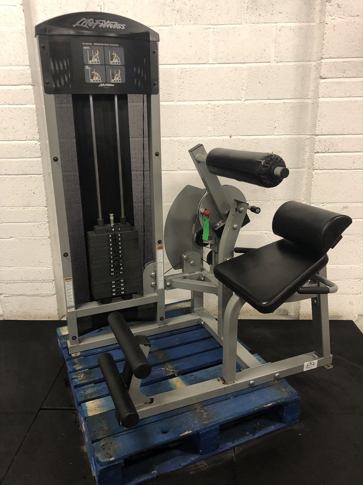 Life Fitness Fit Series Dual Ab Crunch / Back Extension